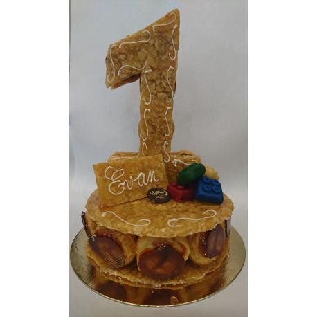 Chiffre Gâteau de naissance