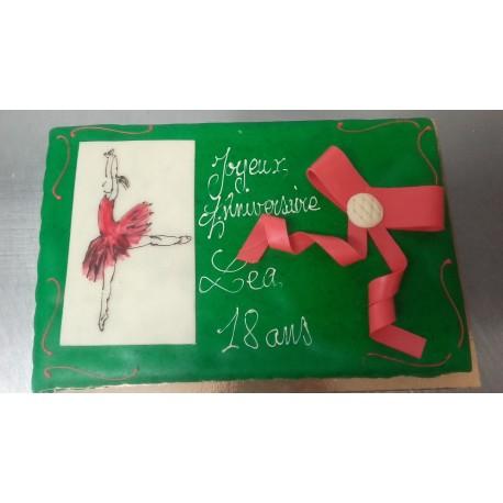 Danseuse Gâteau d'anniversaire