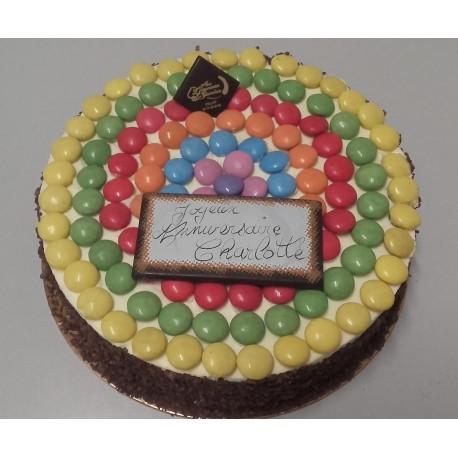 Smarties Gâteau d'anniversaire